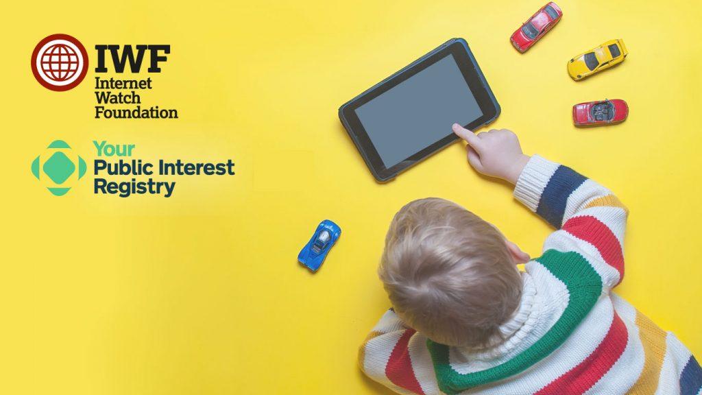 Public Interest Registry joins the Internet Watch Foundation
