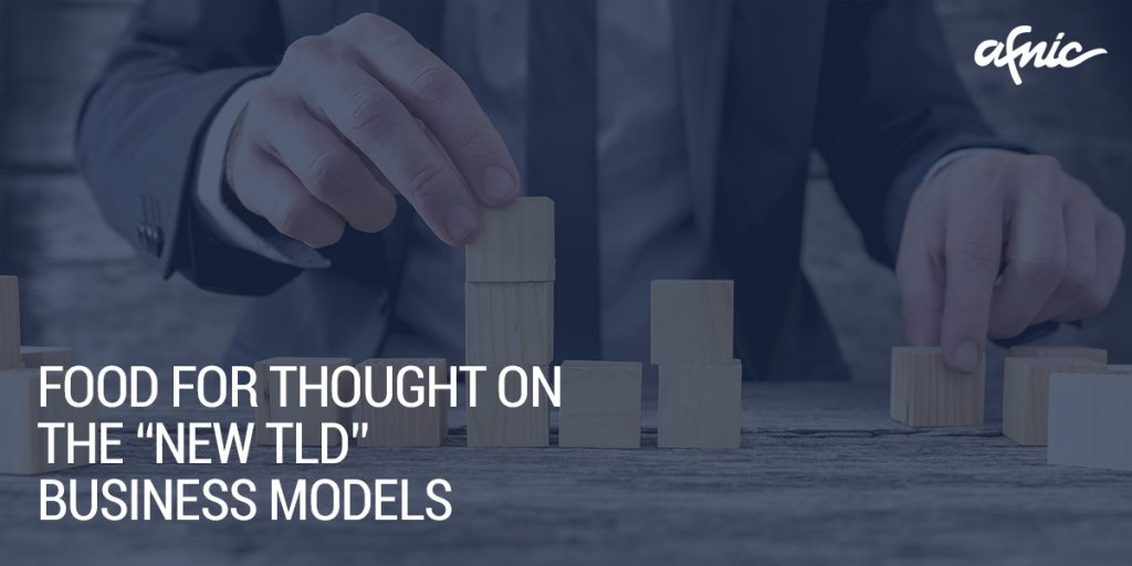 """Food for thought on the """"new TLD"""" business models by Afnic's Loïc Damilaville"""