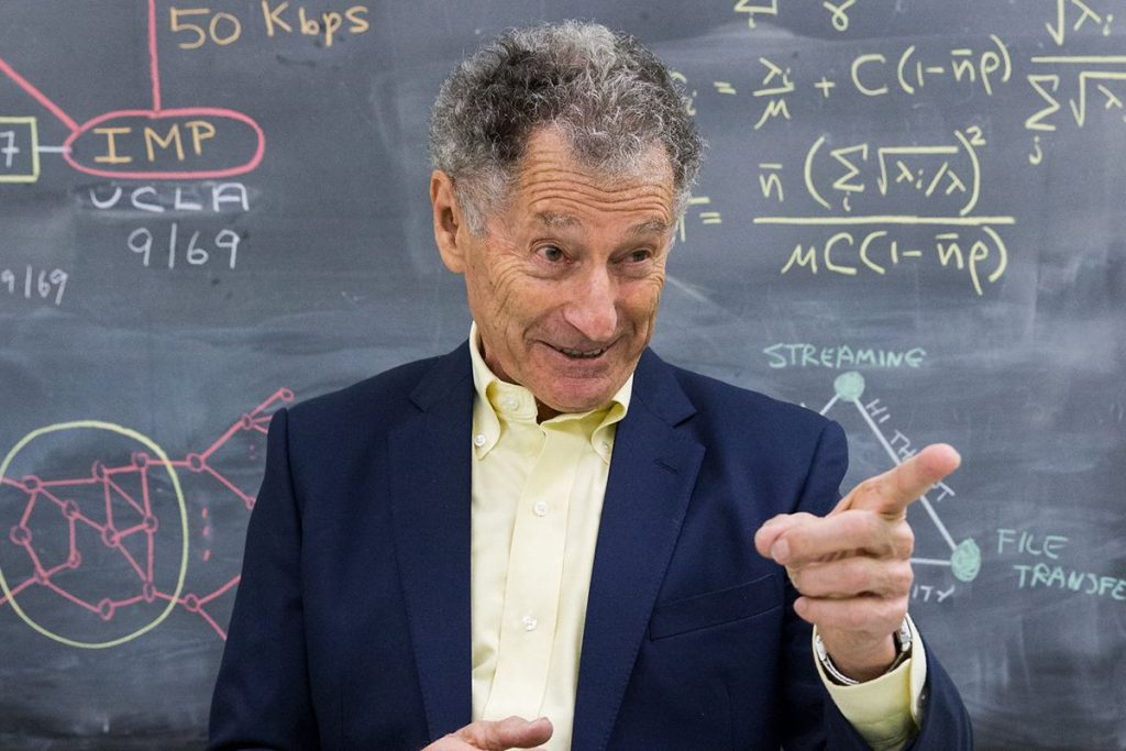 Leonard Kleinrock On The First Message 50 Years Ago