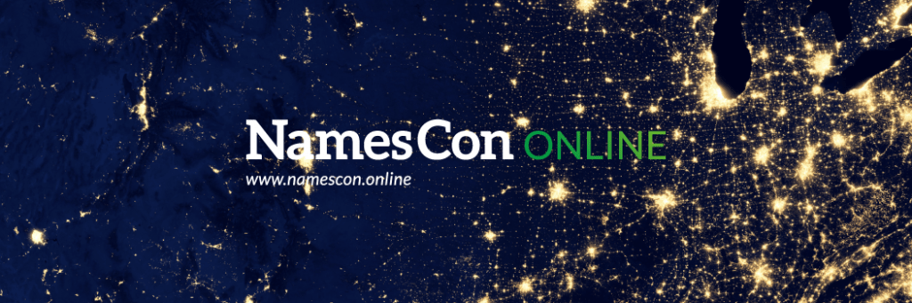 NamesCon 2021 schedule of events live and online conferences in 2021
